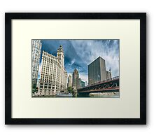 City Front Center Framed Print
