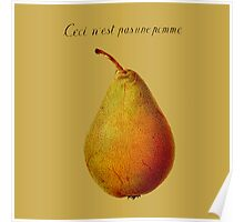 Ceci n'est pas une pomme Poster
