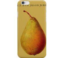 Ceci n'est pas une pomme iPhone Case/Skin