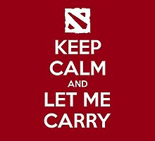 Dota 2 - Let Me Carry. by ofarivar