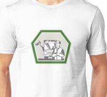 Garbage Collector Rubbish Truck Retro Unisex T-Shirt