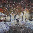 Street for Two by Stefano Popovski