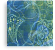 Rebirth - Blue Lotus Canvas Print