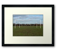Football Posts Framed Print