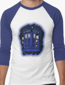 Doctor Who? Men's Baseball ¾ T-Shirt