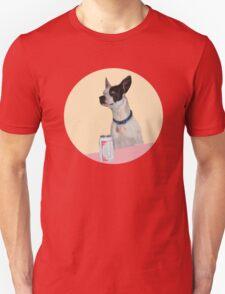 A dog walks into a Bar T-Shirt