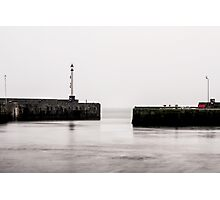 A Foggy Day At The Coast Photographic Print