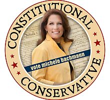 Constitutional Conservative Michele Bachmann by morningdance