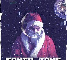 Santa Jaws in space by G-dugZ