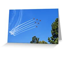 Roulettes in Formation Greeting Card