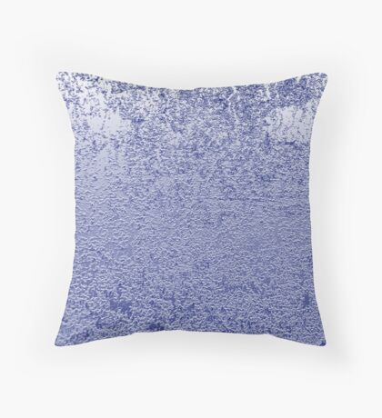Blue Abstracts Throw Pillow