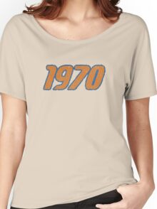 Vintage Look 1970's Funky Year Graphic 1970 Women's Relaxed Fit T-Shirt
