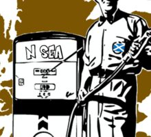 Indy Scottish North Sea Oil Our Turn T-Shirt Sticker