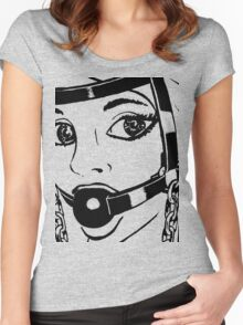 BDSM HH2 Trainer Head Harness (ZOOM) Women's Fitted Scoop T-Shirt
