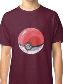 Pokeball Vintage Design Classic T-Shirt