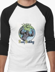 Vegan Bodybuilding Men's Baseball ¾ T-Shirt