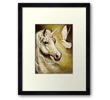 Purity and Peace Framed Print