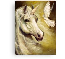 Purity and Peace Canvas Print