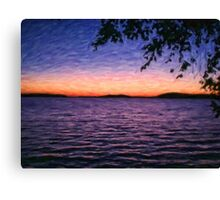 Midsummer Dusk Canvas Print