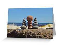Which Way is Up Greeting Card