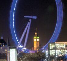 LONDON FRAME Sticker