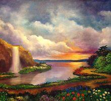 Paradise 3 by Randy  Burns