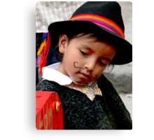 Cuenca Kids 408 Canvas Print