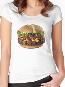 Hamburger Women's Fitted Scoop T-Shirt