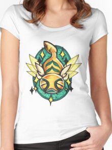 Dunsparce  Women's Fitted Scoop T-Shirt