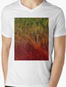 Trippysaurus Rex Mens V-Neck T-Shirt
