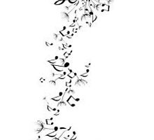 Dandelion Seeds into Music Notes by Cheatahgirl54