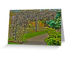 Throw the Arch. Greeting Card