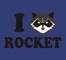 I love Rocket by CarloJ1956