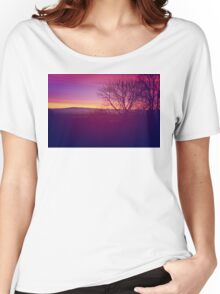 Pink Sunset  Women's Relaxed Fit T-Shirt