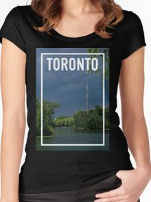 TORONTO FRAME Women's Fitted Scoop T-Shirt