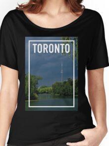 TORONTO FRAME Women's Relaxed Fit T-Shirt