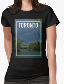 TORONTO FRAME Womens Fitted T-Shirt