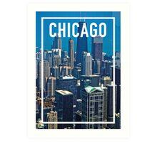CHICAGO FRAME Art Print