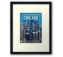 CHICAGO FRAME Framed Print