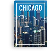 CHICAGO FRAME Canvas Print