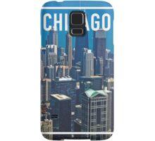 CHICAGO FRAME Samsung Galaxy Case/Skin