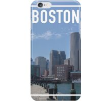 BOSTON FRAME iPhone Case/Skin