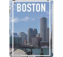 BOSTON FRAME iPad Case/Skin