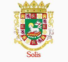 Solis Shield of Puerto Rico Unisex T-Shirt