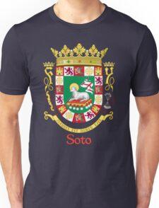 Soto Shield of Puerto Rico Unisex T-Shirt