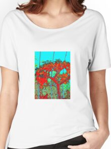 Tree red 1 Women's Relaxed Fit T-Shirt