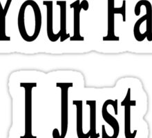 Don't Blame Me For Your Failure I Just Teach Biology  Sticker