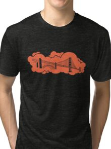 Golden Gate Bridge San Francisco Tri-blend T-Shirt