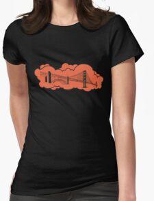 Golden Gate Bridge San Francisco Womens Fitted T-Shirt