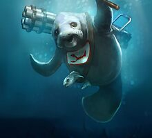 Urf, the manatee III by Runehise